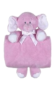 Cuddle Blankets / Pink Elephant