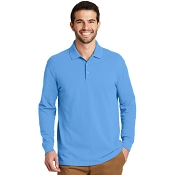 K8000LS  EZCotton™ Long Sleeve Polo.