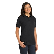 L420  Ladies Heavyweight Cotton Pique Polo