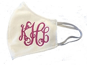 Face Mask With  Monogram